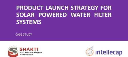 Featured in a Case Study on 'Product Launch Strategy for Solar Powered Water Filter Systems'