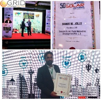Our CEO is awarded as '50 Most Influential Solar Leaders in the world'